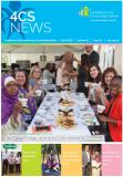 Snapshot of the front cover of the newsletter
