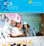 A Screenshot of the front cover of the Newsletter
