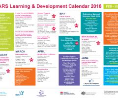 Training Calendar February to June 2018