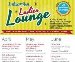 Ladies Lounge Calendar April to June