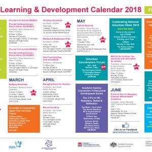 Training Calendar February to June 2018